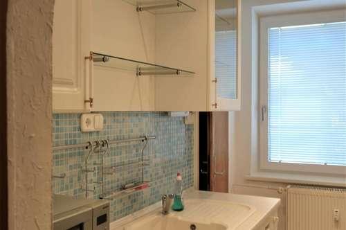 Sehr zentrale & gut aufgeteilte geräumige 2-Zimmerwohnung in Grünruhelage; für gemütliches sowie energieeffizientes Wohnen sorgen 3-fach verglaste Fenster & eine Thermofassade.
