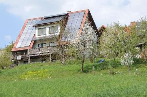 Zukunftsfähiges Einfamilienhaus in Bestlage mit Blick auf Schloss Kornberg