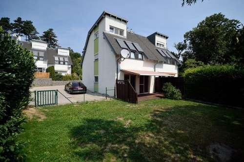 Doppelhaushälfte mit Garten in Gießhübl, voll unterkellert