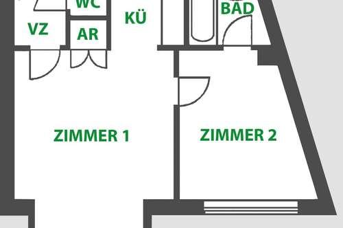 ***Top Single/Pärchen-Wohnung*** Frisch renoviert | Klimaanlage | Lift | Garage | perfekte Verkehrsanbindung | Garten-Mitbenutzung | kein Makler | uvm.