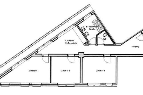 Schöne moderne und geräumige 3-Zi Wohnung