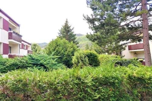 Wohnung mit Gartennutzung und Blick auf den herrlichen Husarentempel!