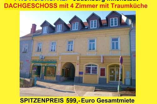 PROVISIONSFREI - Judenburg Innenstadt - 4 Zimmer DACHGESCHOSS