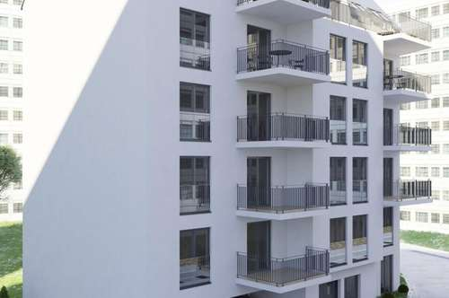 Erstbezug – Moderne Neubauwohnung mit Balkon in U-Bahn Nähe