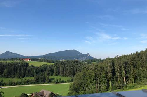 Rarität! Doppelhaus mit Blick auf den Gaisberg