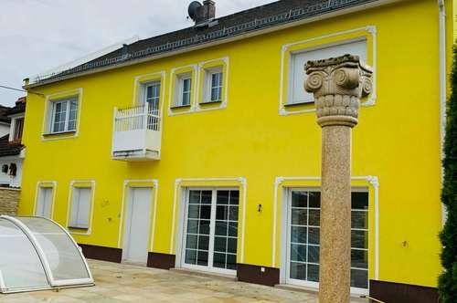 Exklusives Wohnhaus Zentrum Wels mit Poolhaus und Wasserwärmepumpe