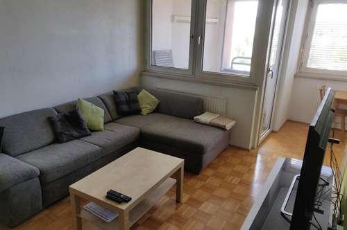 Linz Dornach (Biesenfeld), 53 m2, Loggia + Tiefgarage