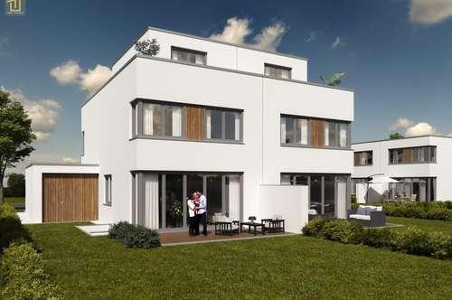 Hochwertiges Architekten-Doppelhaus mit Urlaubsflair am Föhrensee