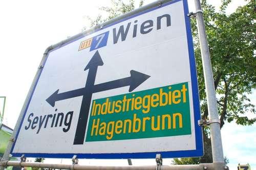 Betriebsgrund im Industriegebiet Hagenbrunn