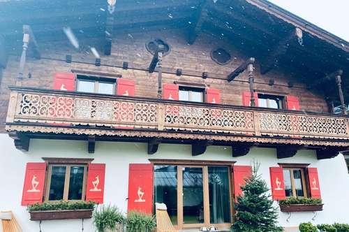 SKI IN SKI OUT Am Fusse der legendären STREIF Abfahrt in Kitzbühel