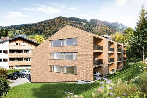 Neupauprojekt Hittisau Platz: Hochwertige 2,- 3- und 4-Zimmerwohnungen