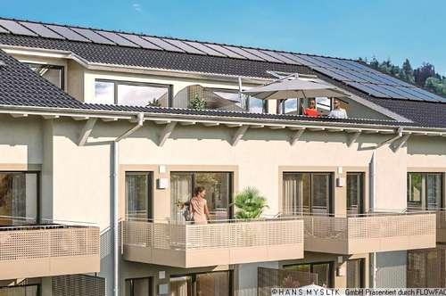 Hallein: Dachgeschoß-Traum mit 4 Zimmer und Traumblick