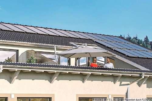 4 Zimmer Dachgeschoßwohnung mit Penthouse Flair und sonniger Terrasse