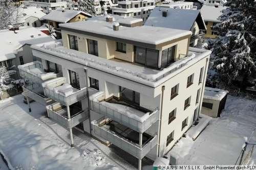 Neubauprojekt: 75m²-Wohnung + 195m² Garten in Salzachnähe