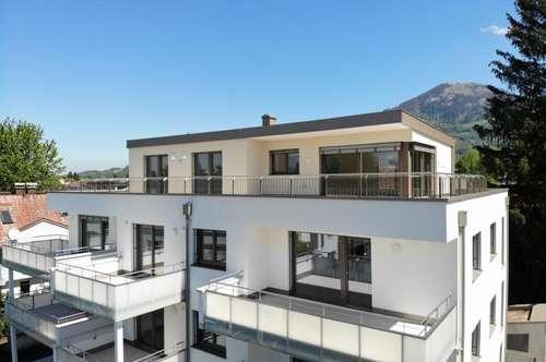 KOFFER PACKEN UND EINZIEHEN: Lifestyle Terrassen-Wohnung Nähe Salzach