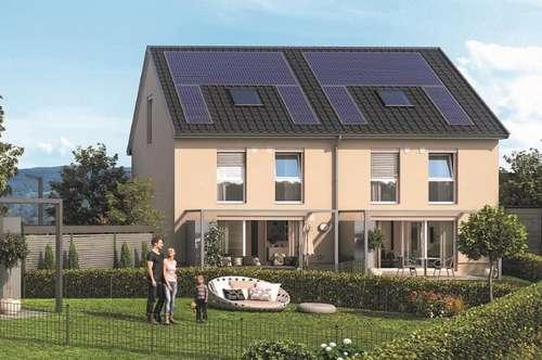 25 Minuten nach Salzburg: Sonnige Doppelhaushälfte mit 111 qm Garten
