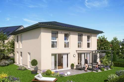 Oberndorf bei Salzburg: Charmante Neubau-Villa in Ruhelage nahe S-Bahn Station