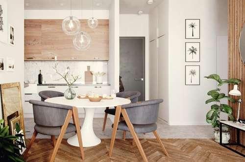 P&P: Erstbezugs-Mietwohnungen mit Loggia und Garten