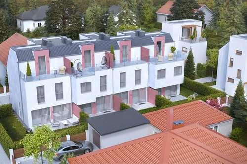 ERSTBEZUG & UNBEFRISTET:: Reihenhaus mit Dachterrasse, Keller, Fußbodenheizung, elektr. Jalousien