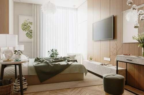 >>> Erstbezugs-Mietwohnungen mit Loggia und Garten