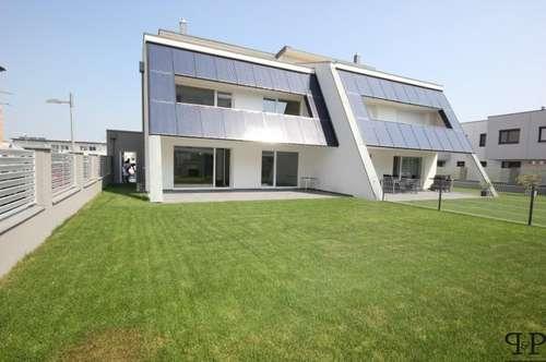 +++ PAUL & Partner: Luxus Doppelhaushälfte - Terrassen - Garten - Garage und Carport