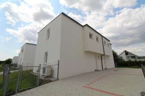 PAUL & Partner: ERSTBEZUG: Doppelhaushälfte; Luftwärmepumpe - Garten - Keller