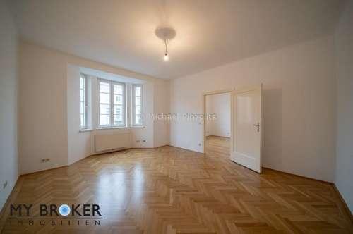 78m² große Altbauwohnung mit sehr guter Raumaufteilung und Stellplatz im Innenhof