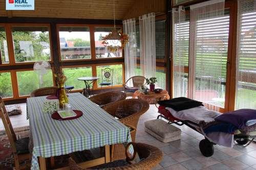 Gepflegtes Einfamilienhaus mit Wintergarten in Grünruhelage Werndorf