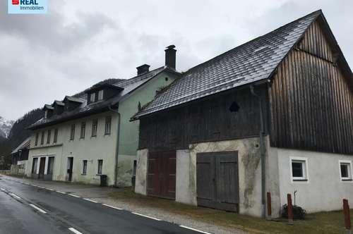 Geschichtsträchtiges Wohn/Geschäftshaus mit 8.860m² Grund im schönen Erholungs- und Wandergebiet Palfau.