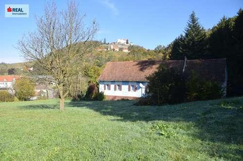 Abbruchhaus auf großem Grundstück zu verkaufen