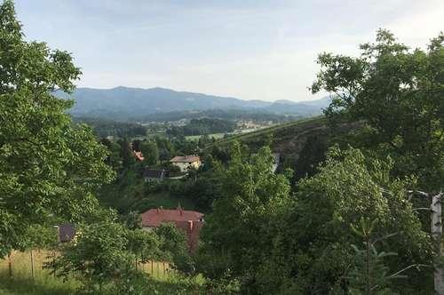 Sonniger Baugrund für Naturliebhaber in ruhiger Lage - Bezirk Deutschlandsberg
