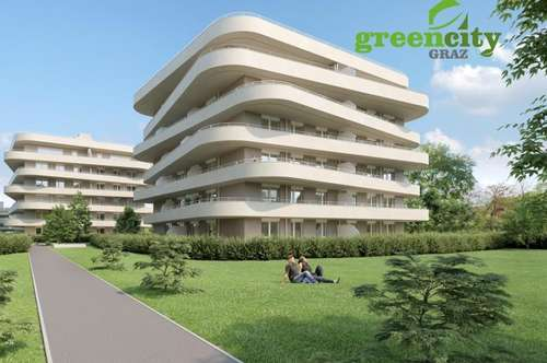 Greencity Graz - Urbanes Wohnen im Grünen! 8054 Graz-Straßgang