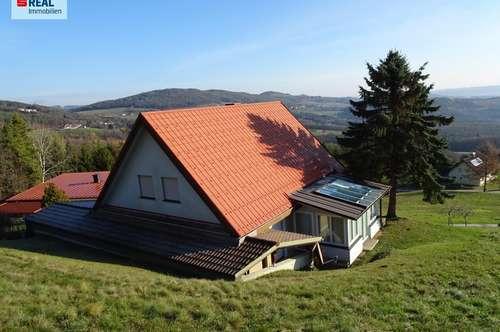 Traumhaus in bester Sonnenlage mit Ausblick über die Süd-Ost-Steiermark!