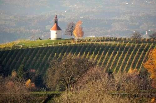 Südsteiermark - Große Liegenschaft in beeindruckender Aussichtslage - Nähe Kitzeck