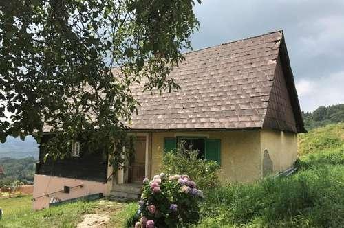Bauernhaus - sanierungsbedürftig - wunderschöne Aussichts- und Ruhelage - Nähe Kitzeck