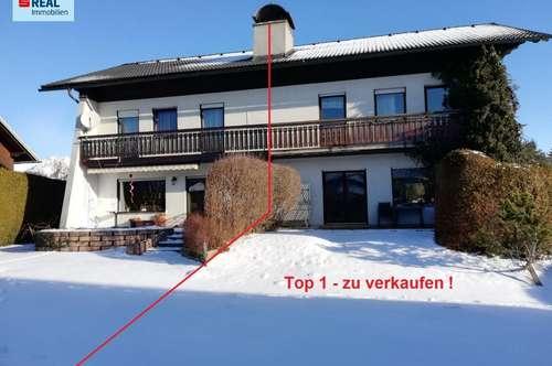 Doppelhaushälfte (2 getrennte Wohneinheiten) in sonniger, beliebter Lage in Trofaiach-Edling.