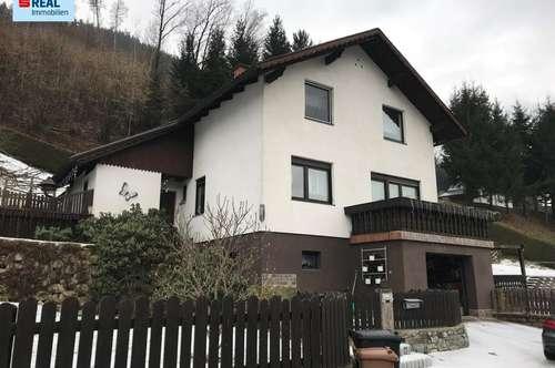 Gepflegtes Einfamilienhaus mit großem Grundstück am Ortsrand von Niklasdorf