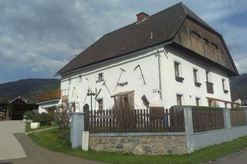 Ein besonderes Bauernhaus in Scheifling
