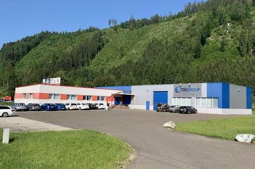 Büro und Produktionshallen in sehr guter zentraler Lage - Nähe Knoten St. Michael