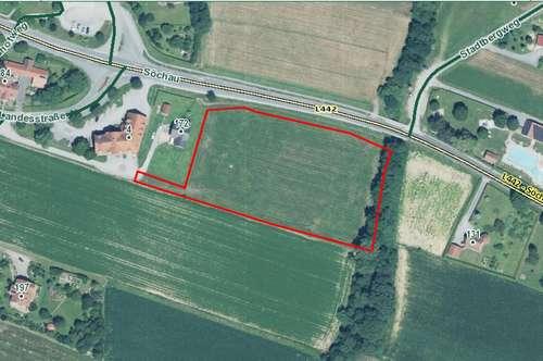 Gewerbegrundstück in frequentierte Lage nähe Fürstenfeld
