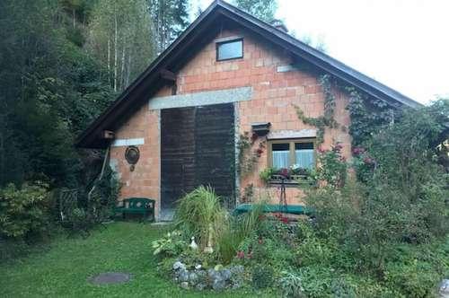 Rohbau (Garage) in St. Lorenzen