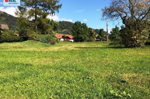 Eben, ruhig und sonnig BAUEN! Grundstücke in 8844 Schöder/Baierdorf