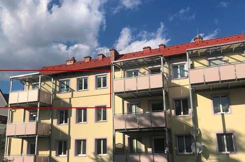 Sehr schöne 2-Zimmer-Mietwohnung mit Südbalkon in Zentrumsnähe