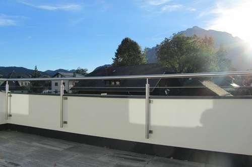 TOPLAGE ANIF:  Bezaubernde, lichtdurchflutete 4 Zi.-Dachterrassenwohnung in angenehmer Sonnenruhelage - mit herrlichem Panoramaausblick
