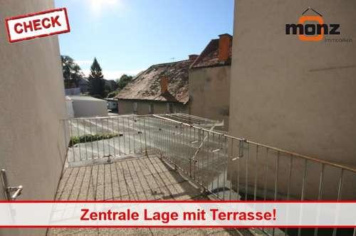 2 Zimmerwohnung mit Terrasse in zentraler Lage!