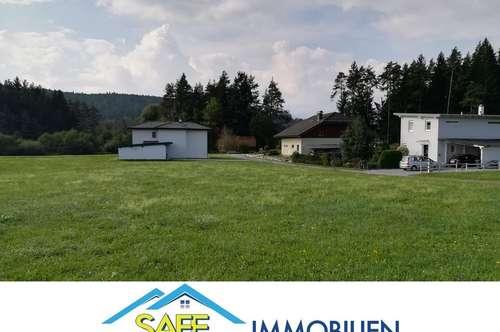 Schiefling am Wörthersee/Farrendorf: sonniges, ebens Grundstück im Grünen!