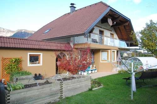 Erlendorf: sonniges, gepflegtes Einfamilienhaus mit Karawankenblick nahe Villach!