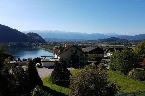 Sattendorf/Ossiacher See: gepflegte Eigentumswohnung mit traumhauten Ausblick in guter Lage