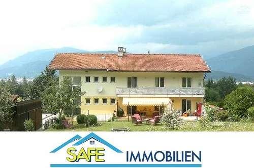 Villach: gepflegte 4-Zimmer Wohnung im EG in Grünlage zu mieten!