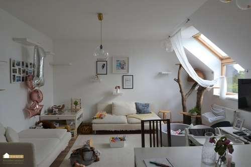 Schöne Dachgeschoß- Familien-Wohnung mit 4 Zimmer